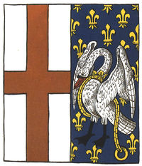 Badges from XVI c. Prince Arthur`s Book