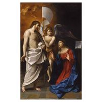 Guido Reni, Cristo risorto appare alla Vergine, 1608 circa, Fitzwilliam Museum, Cambridge